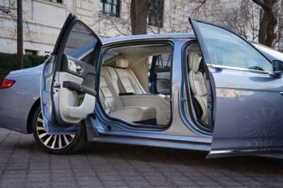 On the Lighter Side: 2019 Lincoln Continental Brings Back the Suicide Doors