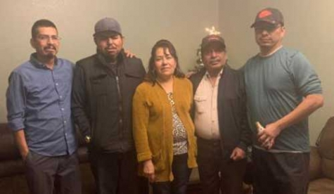 Daniel Avila Loma, second from right, contracted a fatal case of COVID-19 and his family believes it was while working at a meatpacking plant in Greeley, CO.