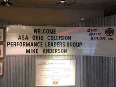 ASA Ohio was excited to welcome Mike Anderson of Collision Advice to its first CPL meeting.