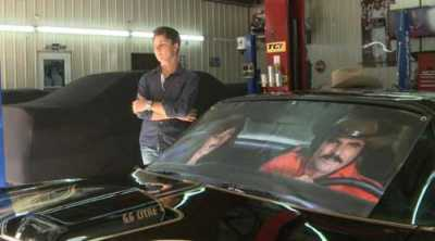One of the Last Cars Burt Reynolds Signed Is in KY Body Shop