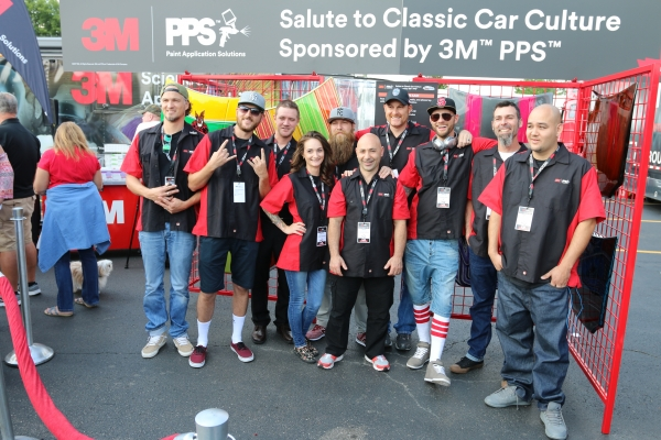 3M's Automotive Aftermarket Division invited 10 leading painters from around the world to illustrate their vision of classic car culture on a hood, using the 3M™ PPS™ System and other 3M automotive products at the 2017 Woodward Dream Cruise.
