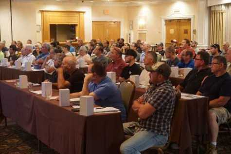 More than 150 New Jersey technicians earned certificates toward their auto body license renewals by attending July's training sessions on welding.