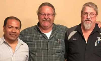ASA North Texas voted in new officers during their September meeting. L to R: Vice President Cesar Vit, President John Firm & Secretary Chris Murphy