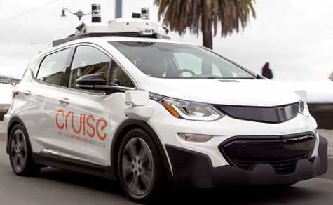 GM Cruise's autonomous cars are capable of running safely at around 30 mph.