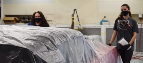 TSTC Auto Collision Program in Waco, TX, Provides Women with Skills for the Workforce