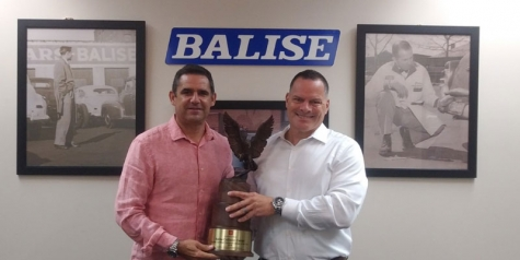 Balise Collision Repair Receives Toyota Triple Crown Award for Third Consecutive Year