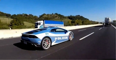 On The Lighter Side: Italian Police Delivers Donor Kidney 300 Miles Away in Two Hours with Lamborghini